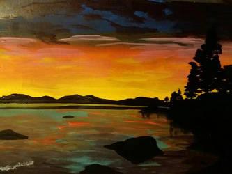 Lake  by Deep6Howl