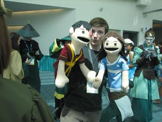 SDCC Fri Zutara Puppet Hands by Katsari-chan