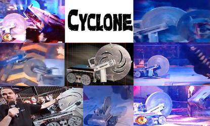 Robot Wars' Cyclone by Headbanger14