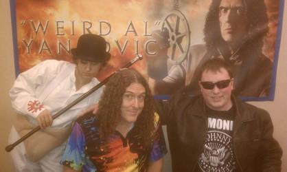 Me and Weird Al Yankovic by Headbanger14