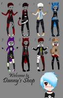 Hoodie Outfits(1/8 OPEN)-WillowWinters by WillowWinters