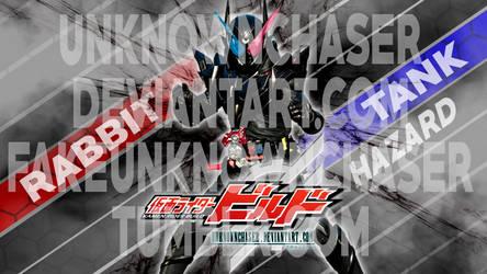 Kamen Rider Build - RabbitTank Hazard Wallpaper by UnknownChaser