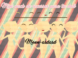 Mini pack de recursos para dolls | Moon-asdasd. by Moon-asdasd