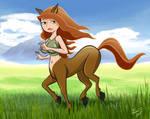 Centaur Kim by LMColver