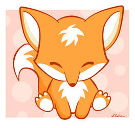 The Happy Fox by LMColver