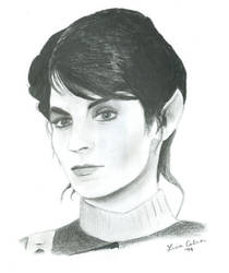 Saavik from Star Trek by LMColver