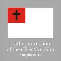 Lutheran Christian flag by varpho