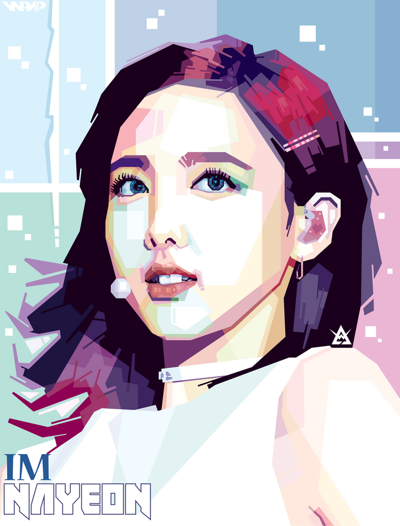 Im Nayeon Twice In Wpap By Edwin Danutirto By Winarts11 On Deviantart