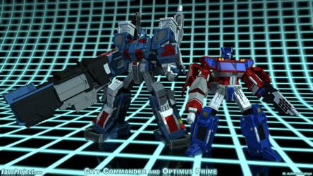 UM City Commander and Optimus by Venksta
