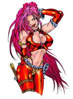 -red-monika- by vital-k