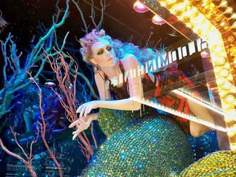 Underwater Stars: Could Swim - night by viridian5