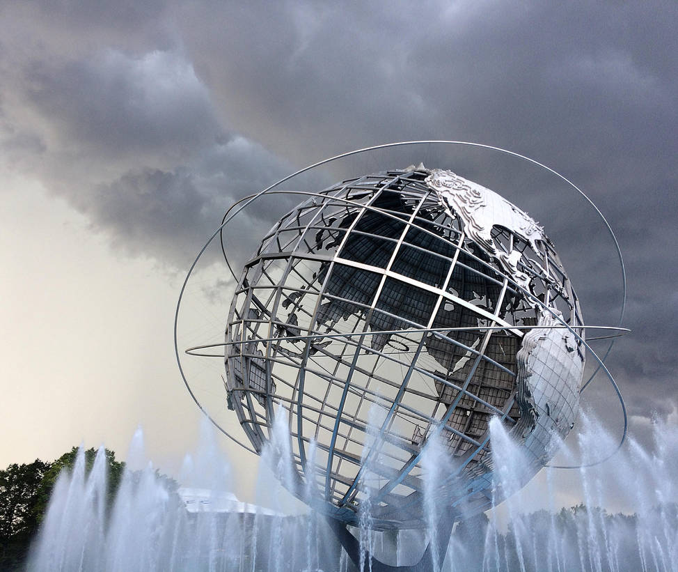 Storm Clouds over the Unisphere by viridian5