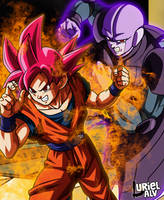 Goku And Hit - Dragon Ball Super by UrielALV