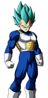 Vegeta FighterZ by UrielALV