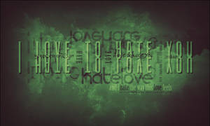 love and hate.. by devils-horizon