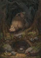 Forest boar by Emiljart