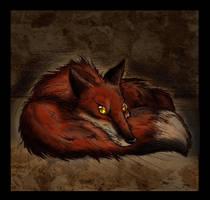 Blank Stare by Culpeo-Fox