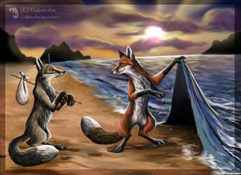 The secret way by Culpeo-Fox