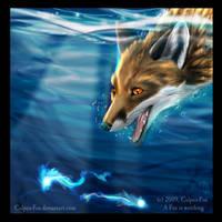 A Fox is watching by Culpeo-Fox