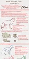Fox Tutorial by Culpeo-Fox