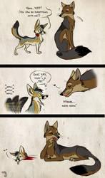 Kit Fox Tragedy by Culpeo-Fox
