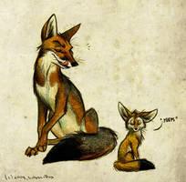 David and Goliath by Culpeo-Fox