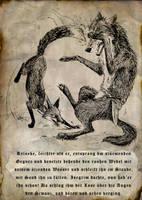 The Fight by Culpeo-Fox