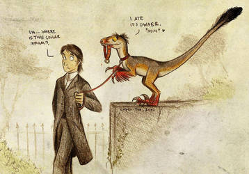 Pet Raptor by Culpeo-Fox