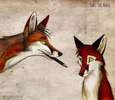 Take the pencil by Culpeo-Fox