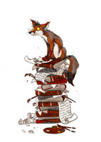 Work Pile by Culpeo-Fox
