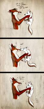 Commission: Little Demon by Culpeo-Fox