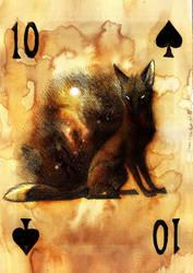 Ten of Spades by Culpeo-Fox