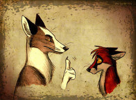 Listen what father says by Culpeo-Fox