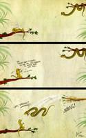 Flying snakes by Culpeo-Fox