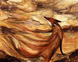 Commission: Storm Fox by Culpeo-Fox