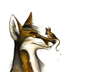 Sparrowmousie by Culpeo-Fox