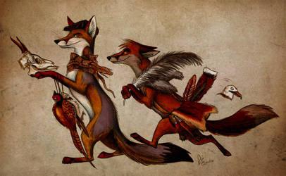Prey by Culpeo-Fox
