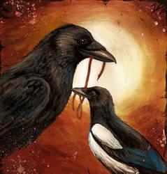Birds of a Feather by Culpeo-Fox