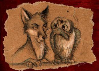 Derpy Owl by Culpeo-Fox
