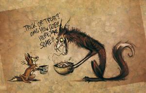 TRICK OR TREAT?! by Culpeo-Fox