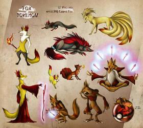 Fox Pokemon by Culpeo-Fox