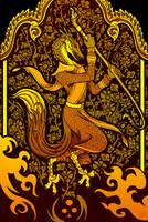 Golden Dancer by Culpeo-Fox
