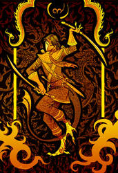 Serpent Warrior by Culpeo-Fox