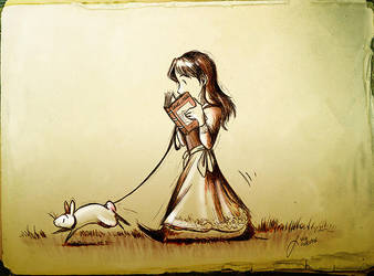 Follow The White Rabbit by Culpeo-Fox