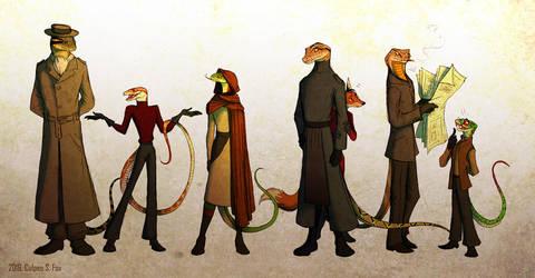 Snake Society by Culpeo-Fox