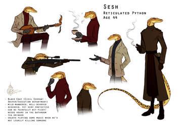 Python Guy by Culpeo-Fox