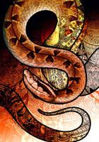 Malayan Pit Viper by Culpeo-Fox