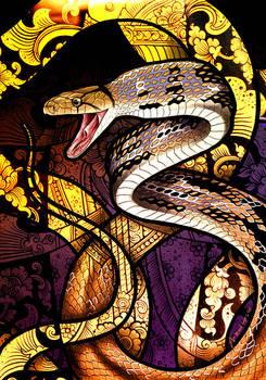 Radiated Rat Snake by Culpeo-Fox