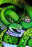 Green Cat Snake by Culpeo-Fox
