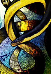 Yellow-Bellied Sea Snake by Culpeo-Fox